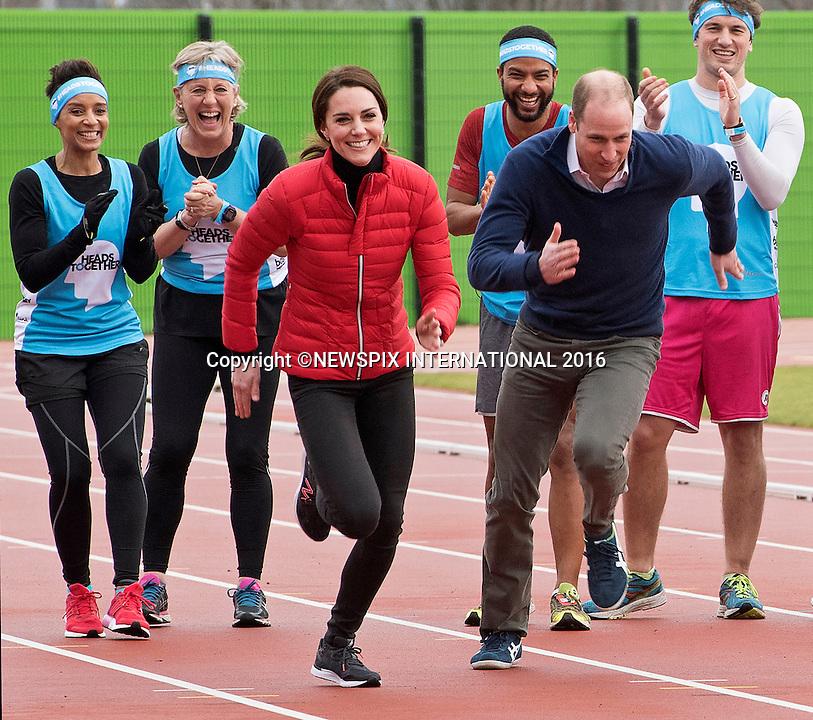 Kate Middleton, Princes William & Harry Marathon Run