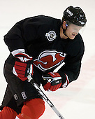 Paul Martin takes part in the  first session on Saturday, September 15, 2007 of the New Jersey Devils training camp on Rink 2 of the Richard E. Codey Arena at South Mountain in West Orange, New Jersey...