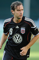 DC United defender Carey Talley (8).  DC United defeated The Kansas City Wizards  2-0 at RFK Stadium, Wednesday  May 5, 2010.