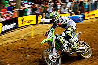 Dean Wilson during the first moto of the 250 class at the Lucas Oil AMA Pro Motocross at Budds Creek National in Mechanicsville, Maryland on Saturday, June 18, 2011. Alan P. Santos/DC Sports Box