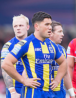 Picture by Allan McKenzie/SWpix.com - 04/03/2017 - Rugby League - Betfred Super League - Salford Red Devils v Warrington Wolves - AJ Bell Stadium, Salford, England - Andre Savelio.