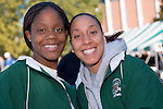 Women's Basketball...Caroline Barnett and Simone Redd