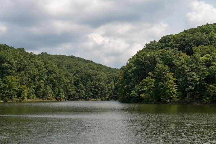 Burr Oak Reservoir during the summer. Photo by Ben Siegel