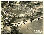 Michigan Stadium on Opening Day, October 1, 1927.