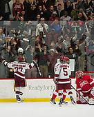 Lewis Zerter-Gossage (Harvard - 77), Clay Anderson (Harvard - 5) - The Harvard University Crimson defeated the visiting Cornell University Big Red on Saturday, November 5, 2016, at the Bright-Landry Hockey Center in Boston, Massachusetts.