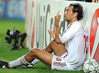 FUSSBALL   CHAMPIONS LEAGUE   SAISON 2011/2012   GRUPPE  H 13.09.2011 FC Barcelona - AC Mailand  Alessandro Nesta (AC Mailand)