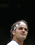 Tennis All England Championships Wimbledon Roger Federer (SUI) Portrait.