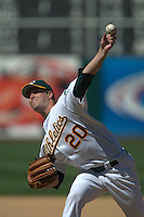Mark Mulder. Minnesota Twins vs Oakland Athletics. Oakland, CA 5/9/2004 MANDATORY CREDIT: Brad Mangin