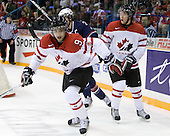 Nazem Kadri (Canada - 9), Ryan Ellis (Canada - 6) - Team Canada defeated Team USA 5-4 (SO) on Thursday, December 31, 2009, at the Credit Union Centre in Saskatoon, Saskatchewan, during the 2010 World Juniors tournament.