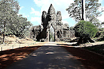 The south gate of Angkor Thom, Cambodia. June 7, 2013.