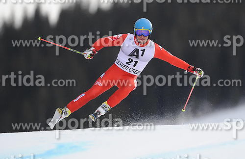 07.12.2014, Birds of Prey Course, Beaver Creek, USA, FIS Weltcup Ski Alpin, Beaver Creek, Herren, Riesenslalom, 1. Lauf, im Bild Davide Simoncelli (ITA) // Davide Simoncelli of Italy in actionduring the 1st run of men's Giant Slalom of FIS Ski World Cup at the Birds of Prey Course in Beaver Creek, United States on 2014/12/07. EXPA Pictures © 2014, PhotoCredit: EXPA/ Erich Spiess