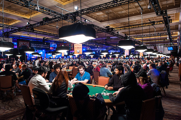 2014 WSOP Event #65: $10K No-Limit Hold'em Main Event Day 1A-1C