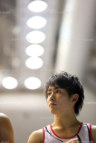 Ryohei Kato (JPN), .April 7, 2013 - Artistic Gymnastics : .FIG Artistic Gymnastics World Cup, Tokyo Cup 2013 .Men's Individual All-round 2nd Day .at Komazawa Gymnasium, Tokyo, Japan. .(Photo by Daiju Kitamura/AFLO SPORT)