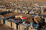 DOMIZ, IRAQ: The Domiz refugee camp...Over 7,000 Syrian Kurds have fled the violence in Syria and are living in the Domiz refugee camp in the semi-autonomous region of Iraqi Kurdistan...Photo by Ali Arkady/Metrography