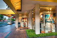 Danskin, Art Gallery, Palm Desert, CA, El Paseo Drive,  Art Sculptures, statue, Public Art, Statues, California,  famous, gallery, shopping, shops, picture-postcard, Palm Springs, CA High dynamic range imaging (HDRI or HDR)