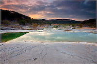 In the Texas Hill Country, morning is beautiful. Here at Pedernales Falls State Park, you can find solitude as well as time to capture some beautiful images.