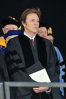 Conferring of Honorary Doctor of Music Degree, Mus. D, to Sir Paul McCartney on Old Campus, Yale University, New Haven, CT at the 2008 Commencement Ceremonies.