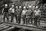 1973 Railroad workers, Conrail. Lewisburg, PA. Gandy Dancers..File #73-134-C9a