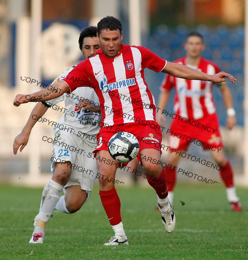 Fudbal, Jelen super liga, sezona 2010/11.BSK Borca Vs. Crvena Zvezda.Dusko Tosic.Beograd, 12.09.2010..foto: Srdjan Stevanovic/Starsportphoto ©
