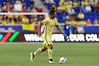 Harrison, NJ - Wednesday July 06, 2016: Gil Buron during a friendly match between the New York Red Bulls and Club America at Red Bull Arena.