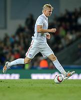 PRAGUE, Czech Republic - September 3, 2014: USA's Brek Shea during the international friendly match between the Czech Republic and the USA at Generali Arena.