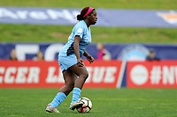 Piscataway, NJ - Saturday May 20, 2017: Mandy Freeman during a regular season National Women's Soccer League (NWSL) match between Sky Blue FC and the Houston Dash at Yurcak Field.  Sky Blue defeated Houston, 2-1.