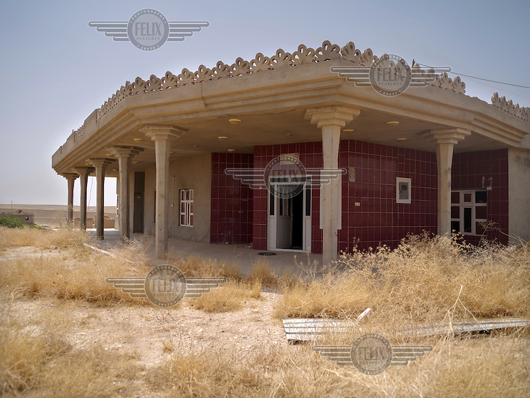 A house abandoned by its Yazidi owner, Qasim, in Zorava village following the advance of ISIS in August 2014.