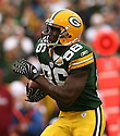 DONALD LEE, of the Green Bay Packers, in action during the Packers games against the Washington Redskins, in Green Bay, Wisconsin on October 14, 2007.  ..The Packers won the game 17-14...COPYRIGHT / SPORTPICS..........