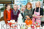 Food Fair : Attending the cake decorating demonstration at the Listowel  Arms Hotel on Saturday were Jane O'Shea, Ella O'Sullivan, Mairead Moriarity & demonstrator Marian Malone from Deco bake.