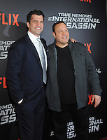 NEW YORK, NY - NOVEMBER 03:  Kevin James and Jeff Wadlow  attends the 'True Memoirs Of An International Assassin' New York premiere at AMC Lincoln Square Theater on November 3, 2016 in New York City. Photo by John Palmer/ MediaPunch