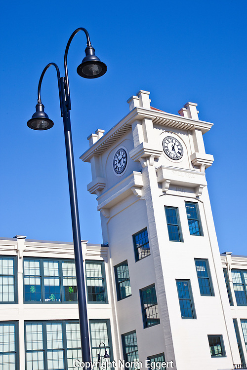 The abandoned Stillwater Mill has been transformed into the Clocktower Apartments in Harrisville, RI