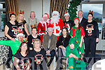 Enjoying the Young at heart Christmas party in the Muckross Park hotel on Sunday were front l-r: Johnny Brosnan, Bernie O'Sullivan, Cecily O'Donoghue, Mary McEnery, Don O'Donoghue, Mary O'Sullivan and Rian Kelly. Back row:  Joan Daly, Mary McEnery, Lorraine Kelly, Kevin Quill, Kieran Murphy, Shane O'Sullivan Santa Claus, Liam Kelly, Aine O'Sullivan, Deirdre Courtney