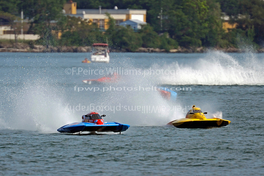 Donald Leduc, CS-48 and CS-18  (2.5 Litre Stock hydroplane(s)