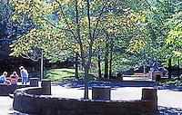 Portland: Pettygrove Park in Portland Center. Halprin & Assoc.   Photo '86.