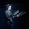 New Adventures, Martin McCallum &amp; Marc Platt present Matthew Bourne's <br /> Edward Scissorhands <br /> at Sadler's Wells, London, Great Britain <br /> press photocall <br /> 4th December 2014 <br /> <br /> <br /> Dominic North as Edward Scissorhands <br /> <br /> <br /> <br /> Photograph by Elliott Franks <br /> Image licensed to Elliott Franks Photography Services