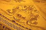 Detail from the Capela de Ossos - Chapel of the Bones, San Francisco Church, Evora, Alto Alentejo, Portugal