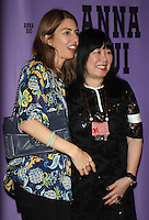 NEW YORK, NY-September 14: Sofia Coppola, Anna Sui backstage for  Anna Sui Fashion Show-2016 New York Fashion Week at the Arts Skylight of Moynihan Station in New York. September 14, 2016. Credit:RW/MediaPunch