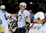 3 February 2009: Pittsburgh Penguins' center and Team Captain Sidney Crosby warms up prior to facing the Montreal Canadiens at the Bell Centre in Montreal, Quebec, Canada. The Canadiens defeated the Penguins 4-2. ***** Editorial Sales Only ***** Mandatory Photo Credit: Ed Wolfstein Photo