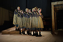 London, UK. 16.09.2015. JANE EYRE, a co-production with the Bristol Old Vic, directed by Sally Cookson, opens at the National Theatre. Picture shows: The Company. Photograph © Jane Hobson.