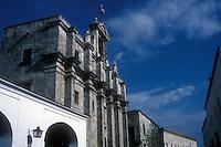 The Panteon Nacional or National Pantheon cemetery in Santo Domingo, Dominican Republic
