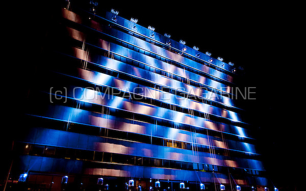 The Statemachine installation from Michel Suk at the Glow Lightfestival in Eindhoven (Holland, 10/11/2014)