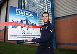 Joe Garner promotes the True Blue Hero fun run