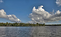 Ten Thousand Islands, HDR, Florida Everglades National Park, South Florida Sky<br /> <br /> CLICK ON ADD TO CART ABOVE TO SEE AVAILABLE STYLES, SIZES AND PRICES