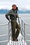 Art Wolfe on location, Glacier Bay National Park and Preserve, Alaska