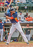 22 March 2015: Houston Astros outfielder Jake Marisnick in Spring Training action against the Pittsburgh Pirates at Osceola County Stadium in Kissimmee, Florida. The Astros defeated the Pirates 14-2 in Grapefruit League play. Mandatory Credit: Ed Wolfstein Photo *** RAW (NEF) Image File Available ***