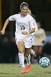 21 November 2014: North Carolina's Katie Bowen (NZL). The University of North Carolina Tar Heels hosted the University of Colorado Buffaloes at Fetzer Field in Chapel Hill, NC in a 2014 NCAA Division I Women's Soccer Tournament Second Round match. UNC won the game 1-0 in overtime.