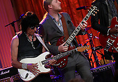 Guitarist Jeff Beck (L) and Derek Trucks (R) perform with an all-star cast at a White House event titled In Performance at the White House: Red, White and Blues, February 21, 2012 in Washington, DC.  As part of the In Perfomance series, music legends and contemporary major artists have been invited to perform at  the White House for a celebration of Blues music and in recognition of Black History Month. The program featured performances by B.B. King, Troy &quot;Trombone Shorty&quot; Andrews, Gary Clark, Jr., Shemekia Copeland, Buddy Guy, Warren Haynes, Mick Jagger, Keb Mo, Susan Tedeschi and Derek Trucks, with Taraji P. Henson as the program host and Booker T. Jones as music director and band leader. .Credit: Win McNamee / Pool via CNP