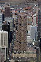 aerial photograph Qwest tower Denver, Colorado