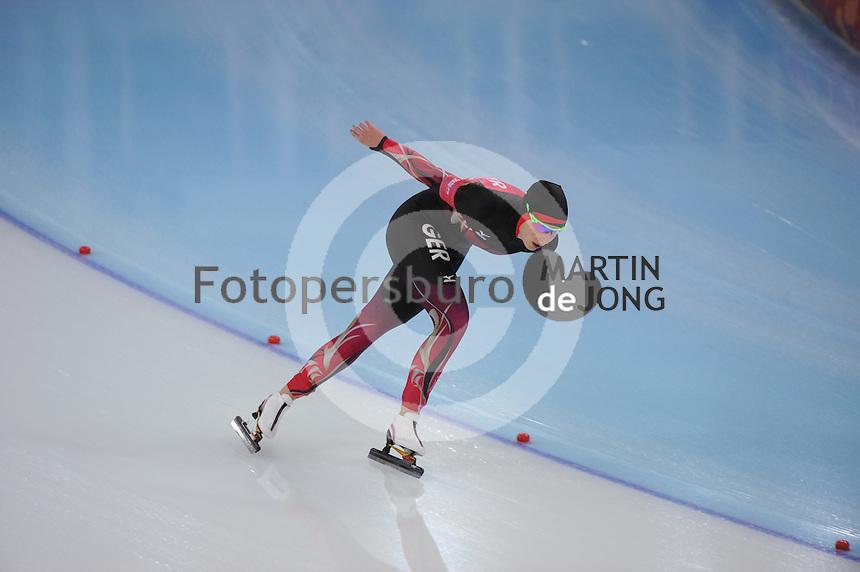 OLYMPICS: SOCHI: Adler Arena, 19-02-2014, Ladies' 5000m, Bente Kraus (GER), ©photo Martin de Jong