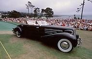 August 26th, 1984.1935 Cadillac 452D Fleetwood Convertible Sedan.